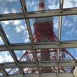 挙式の天井には東京タワー
