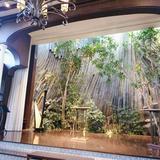 挙式会場の木