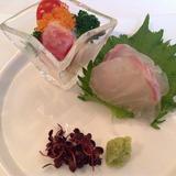 お刺身。新鮮で美味しい