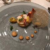 オマール海老と帆立貝のパルフェ