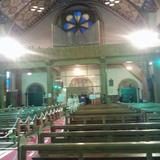 教会の中です