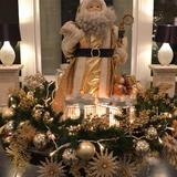 クリスマスの装飾が綺麗でした