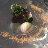 地野菜を使ったサラダ