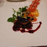 飛騨牛フィレ肉とフォアグラのソテー