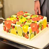 フルーツ断面ケーキ気に入りました。