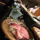 ホテルの中のお寿司ビュッフェ