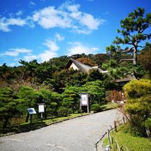三渓園の庭園