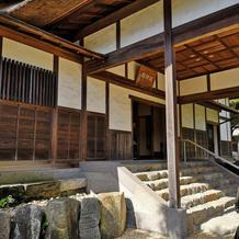 鶴翔閣の入口
