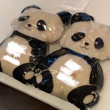 両親へのプレゼントウェイト米パンダ