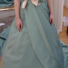 無料のカラードレスです。かわいいですね。