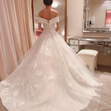 ウェディングドレス、とったバージョン