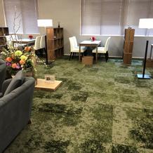 実際の式場と同じ床が素敵たった!