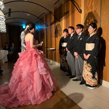 花嫁からの手紙