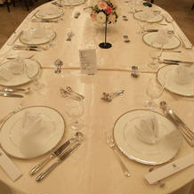 大人数用のテーブル