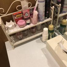トイレの洗面台に常時置かれてる。心遣い◎
