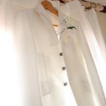新郎衣装(純白)