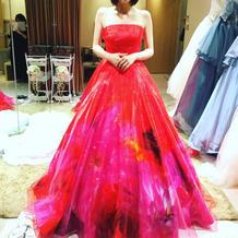 ドレス試着会で運命のドレスを見つけました
