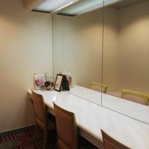 女性用の化粧室