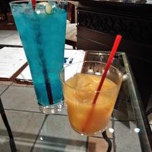 瀬戸内レモンジュースと大島みかんジュース