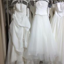 プランのウェディングドレス