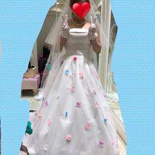 プラン内のドレス、ベール、ティアラ