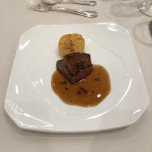 フォアグラとフィレ肉