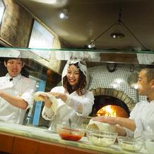 イルブッテロ恒例、夫婦でピザ作り