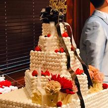 ウェディングケーキ(トッパーはレンタル)
