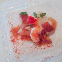 前菜(魚料理)