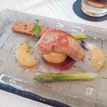 鳥料理(フォアグラ)
