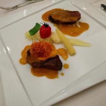 ビアンド 牛フィレ肉のグリエ