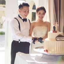 ケーキの飾りの持ち込みも可能でした☆