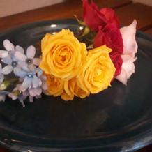 頭飾り生花
