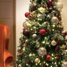 ホテルもクリスマス一色