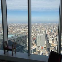 42階からの眺め最高です!