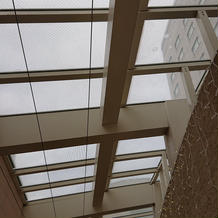 チャペル前天井