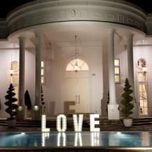 ホワイトハウスのプール