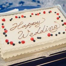 ケーキカット用ケーキ