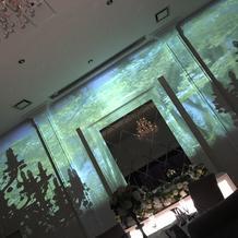 プロジェクト映像前方側