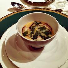 コンソメ風味の茶碗蒸し仕立て