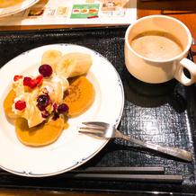 ホテルの朝食バイキングで宮崎パンケーキ