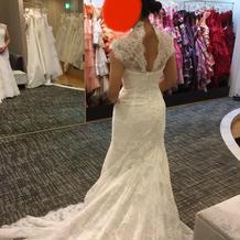 マーメイドのドレス