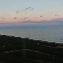 ホテルから海見えます