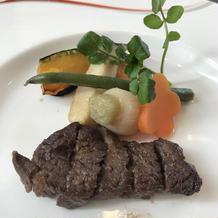 特選牛フィレ肉のポワレ