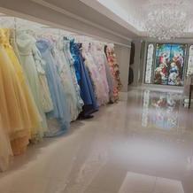 衣裳室の雰囲気
