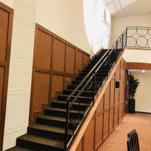 演出用の階段