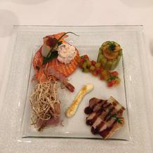 海鮮等の料理