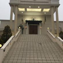 白い大階段