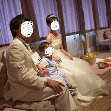 ムービー上映+キッズスペース