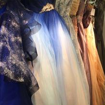 準備室にあるドレスコーナー